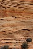 Detail, cross current layers of red sandstone Stock Photo