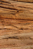 Detail, cross current layers of red sandstone Stock Photos