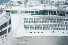Detail of cruise ship Royalty Free Stock Image