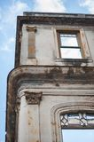 Detail of a Cuban Building Royalty Free Stock Photo