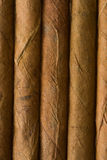 Detail of cuban cigar. The detail of cuban cigar Stock Photos