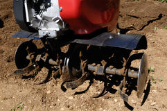 Detail of Cultivator on a field. Detail, Cultivator on a field royalty free stock images