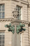Detail on Cunard Building, Pier Head, Liverpool Royalty Free Stock Photos