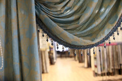 Detail of curtain Royalty Free Stock Photography