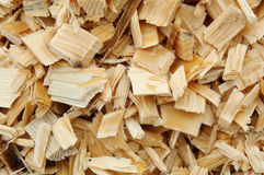 Detail of cut wood. Ready for furniture industry Royalty Free Stock Photography