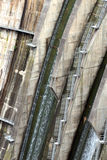 Detail of a dam, the backstairs Royalty Free Stock Images