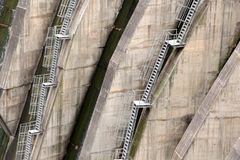 Detail of a dam, the backstairs Stock Image
