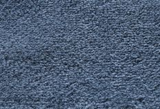 Detail of Dark Blue Fluffy Fabric Texture Background Royalty Free Stock Images
