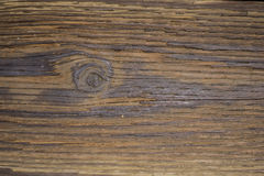 Detail of Dark Brown Wood Royalty Free Stock Photography