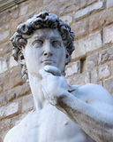 Detail of the David sculpture in Florence Royalty Free Stock Photos