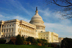 In detail de Bouw van Capitol Hill, Washington DC Royalty-vrije Stock Afbeelding