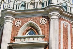 Detail of decor of а building Stock Images