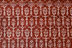 Detail of decorating the Taj Mahal Stock Photos