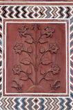Detail decorative of the Jawab. Taj Mahal Royalty Free Stock Images