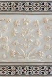 Detail decorative of taj mahal Royalty Free Stock Photos