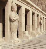 Detail of Deir el-Bahri Stock Image
