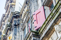 Detail of Delft city hall building Royalty Free Stock Photos