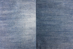 Detail of denim jean texture. Royalty Free Stock Images