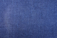 Detail of denim jean texture and seamless background Stock Photography