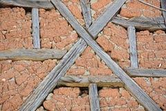 Detail der alten Backsteinmauer Lizenzfreie Stockfotos