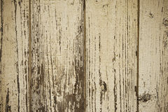 Detail der alten gemalten Holzoberfläche mit klarer Struktur, Nahaufnahme stockfotografie