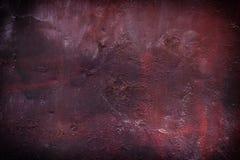 Detail der alten gemalten Metalltür mit klarer Oberflächenstruktur, farbiger Hintergrund Weinlese-Effekt Lizenzfreies Stockfoto