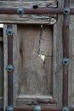 Detail der alten Tür Stockfotografie