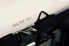 Detail der alten Weinlese-Schreibmaschine Stockfotografie