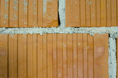 Detail der Backsteinmauer Lizenzfreies Stockfoto