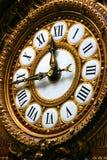 Detail der Borduhr im Orsay Museum Lizenzfreie Stockfotografie