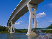 Detail der Brücke Stockfoto