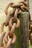 Detail der Chain- Stockfotografie