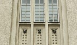 Detail der Dekoration auf Altbau Lizenzfreie Stockfotografie