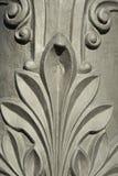 Detail der Dekoration schnitzte auf EisenStraßenlaternen in Barcelona-Ci Lizenzfreie Stockfotografie