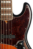 Detail der elektrischen Gitarre Lizenzfreies Stockfoto