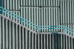 Detail der geometrischen Wand Lizenzfreie Stockfotografie