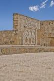 Detail der gewölbten Tür in Medina Azahara Stockfotografie