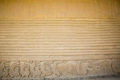 Detail der historischen Stadt von Chan Chan, Trujillo Lizenzfreie Stockfotos