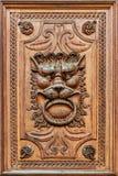 Detail der Holztür lizenzfreies stockbild