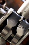 Detail der industriellen Aufzugsteuerung Lizenzfreie Stockfotos