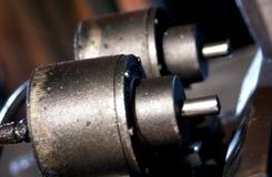 Detail der industriellen Maschinerie Stockfotografie