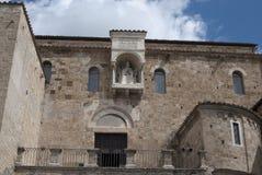 Detail der Kathedrale von Anagni Stockfotografie