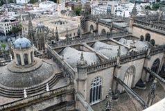 Detail der Kathedrale von Santa Maria Stockfotografie