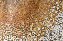Detail der Keramik von den Casen Batllo im Stab Stockbild