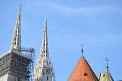 Detail der Kirche Lizenzfreies Stockbild