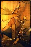 Detail der Kunstausstellung Stockfotos