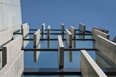 Detail der modernen Architektur Stockfotos