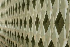 Detail der modernen geometrischen Wandgestaltung Stockfotos