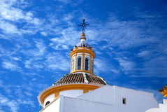 Detail der Piazzas de Toros, Sevilla, Spanien Stockfotografie
