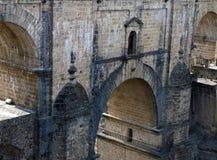 Detail der römischen Brücke Lizenzfreies Stockfoto